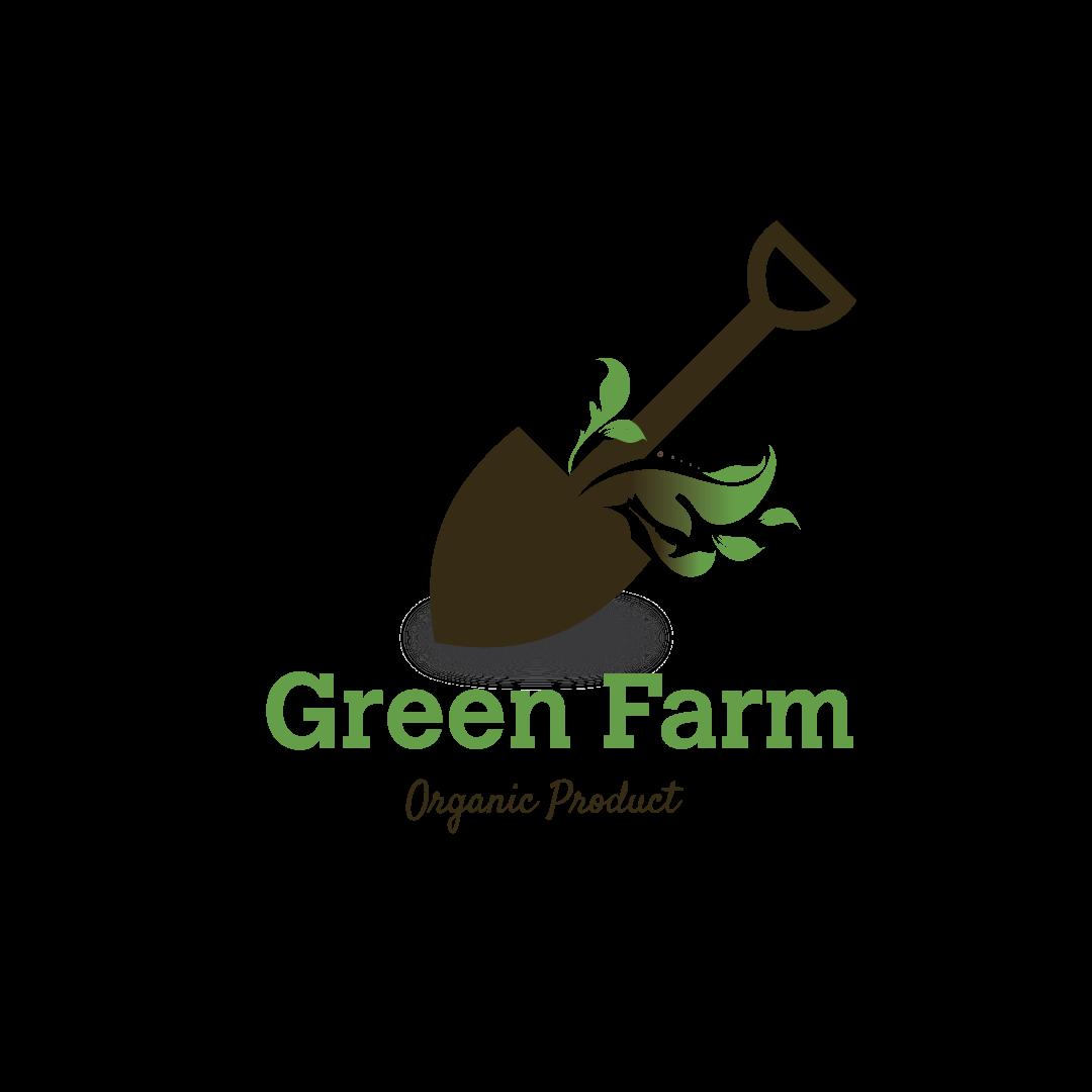 logo design service for green farm