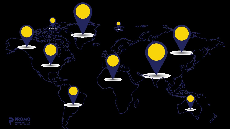 logo design service client map
