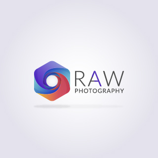 logo design service for Raw Photography