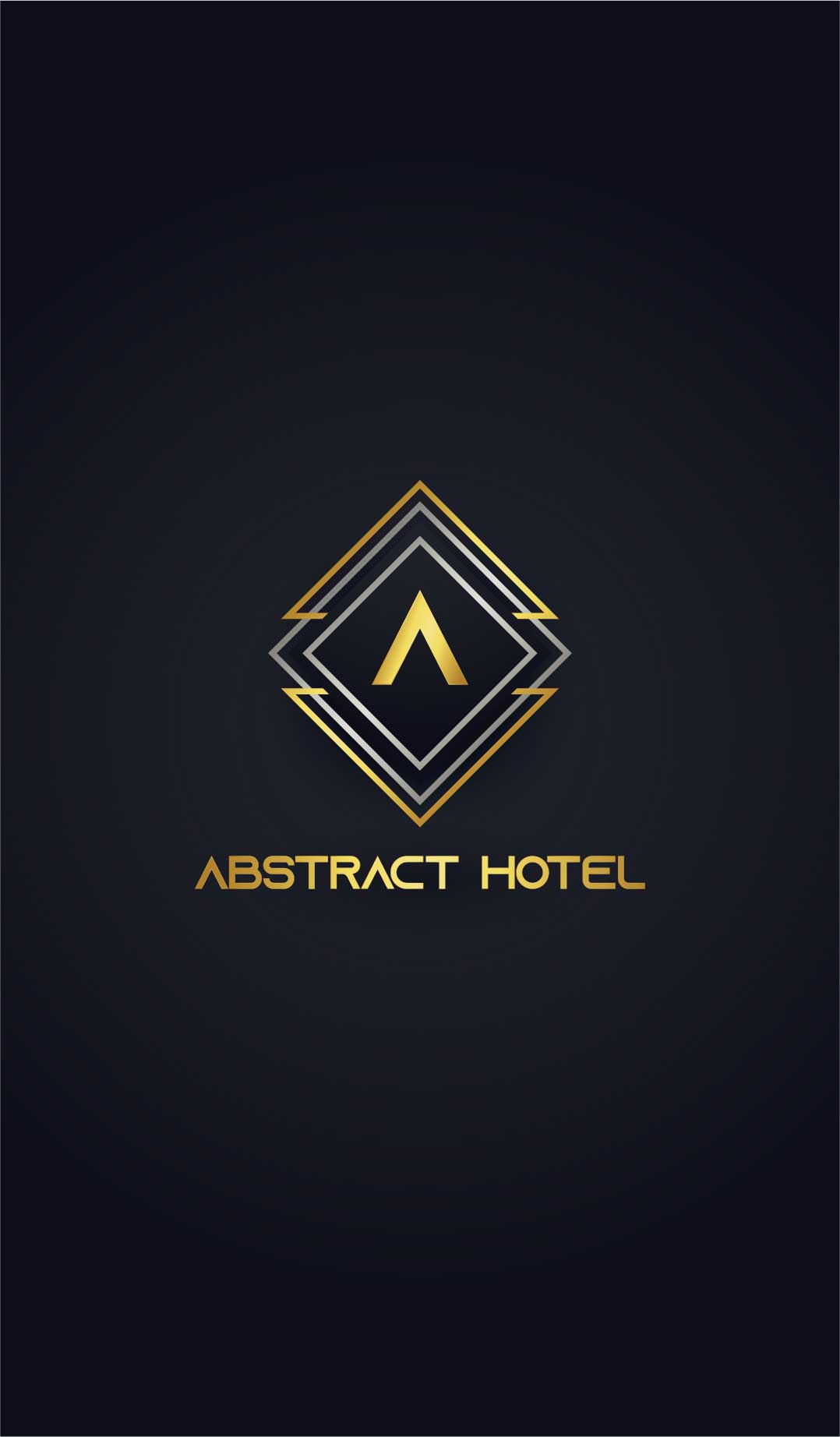 logo design service for Abstract Hotel