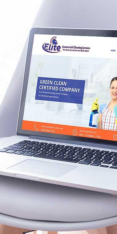 web design and development service for Elite