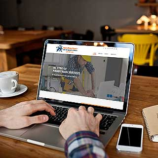 web design and development service for Services