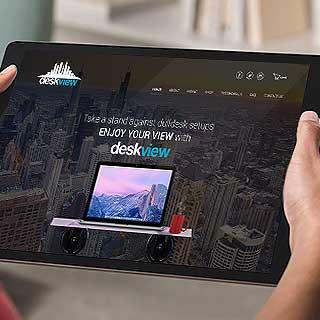 web design and development service for Desk View