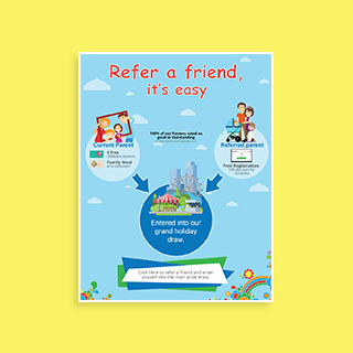 logo design service for Refer a friend
