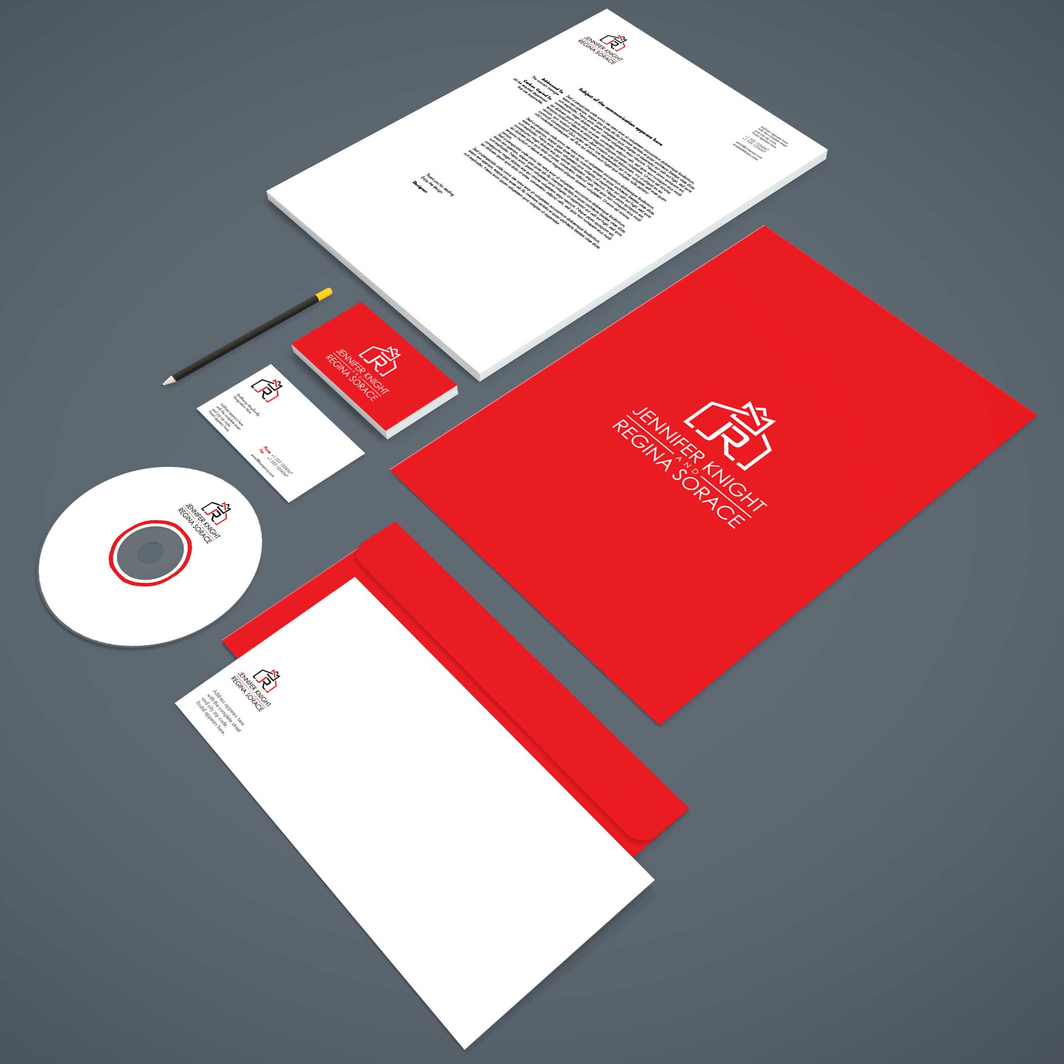 logo design service for Jennifer Knight &  Regina Sorace