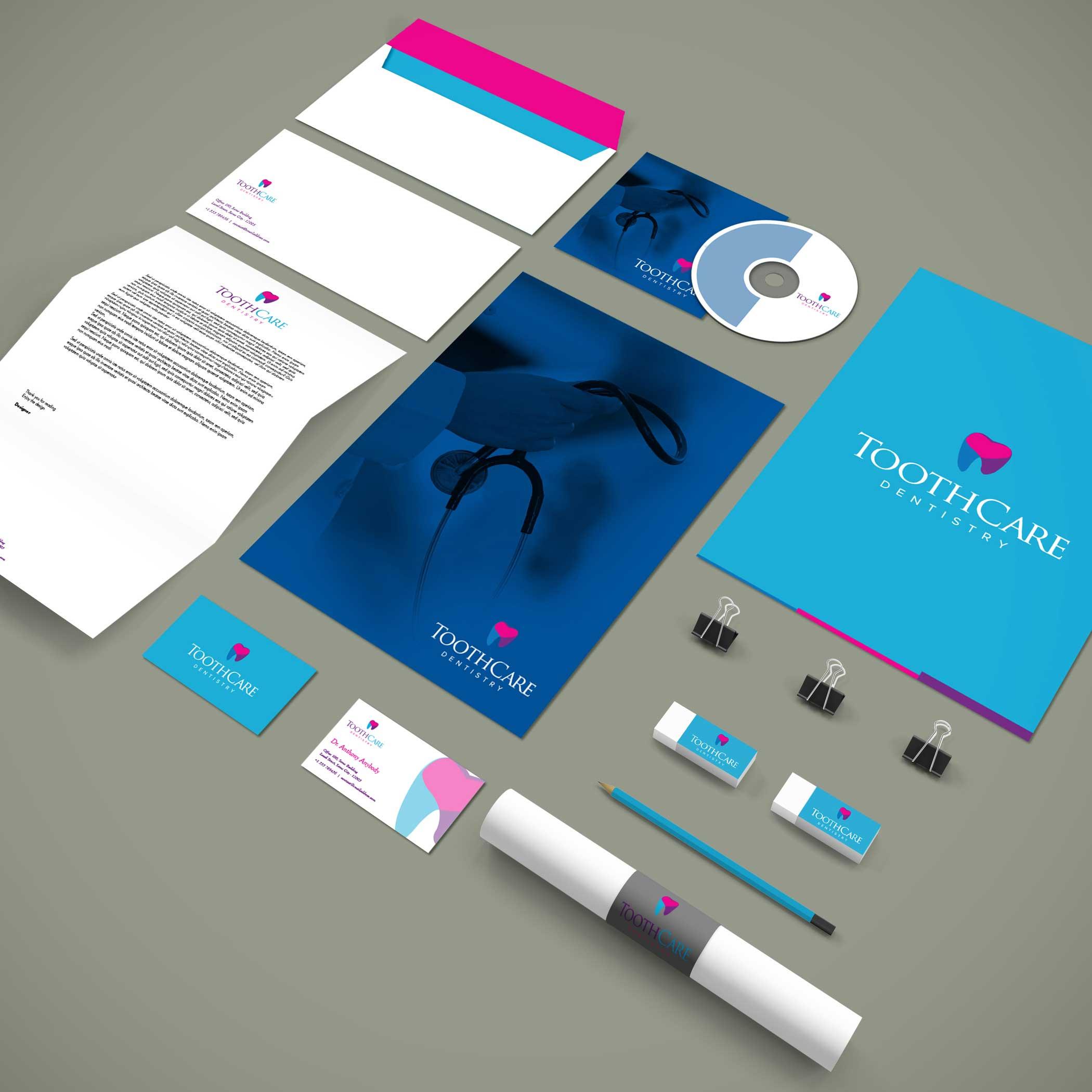 logo design service for Tooth Care